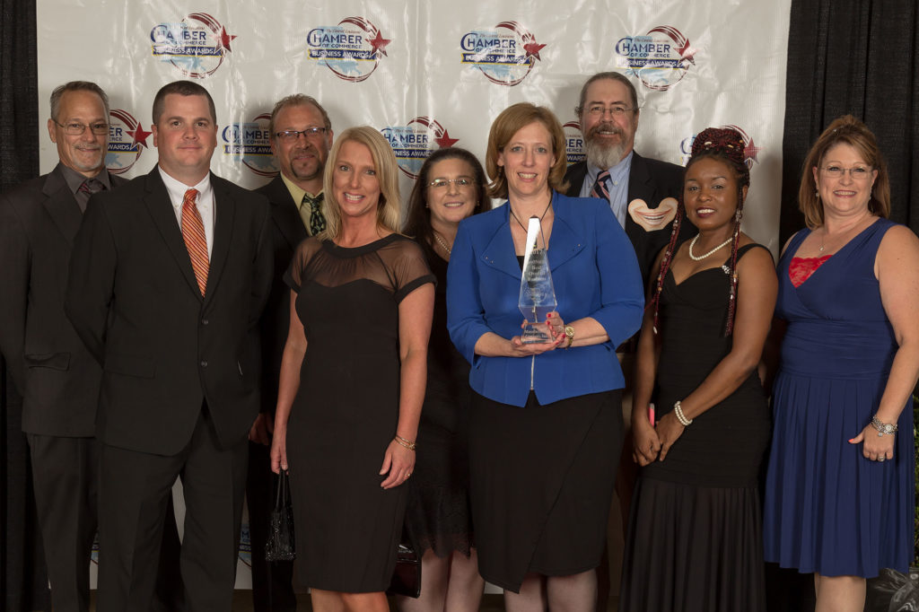 RoyOMartin Best Overall Business Award - Baker Manufacturing